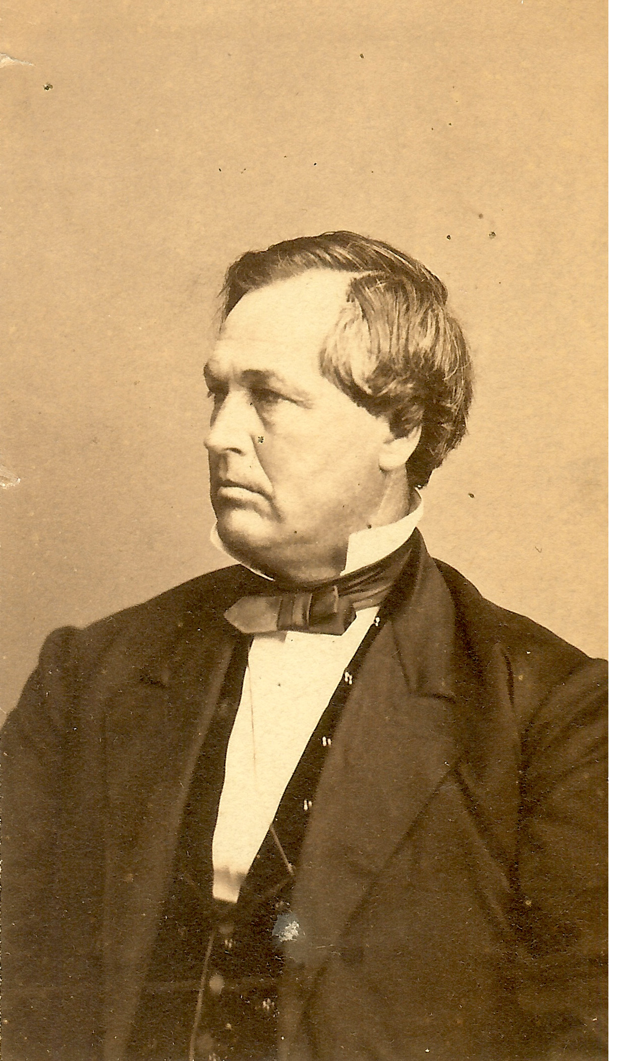 portrait General James W. Denver at Clinton County History Center