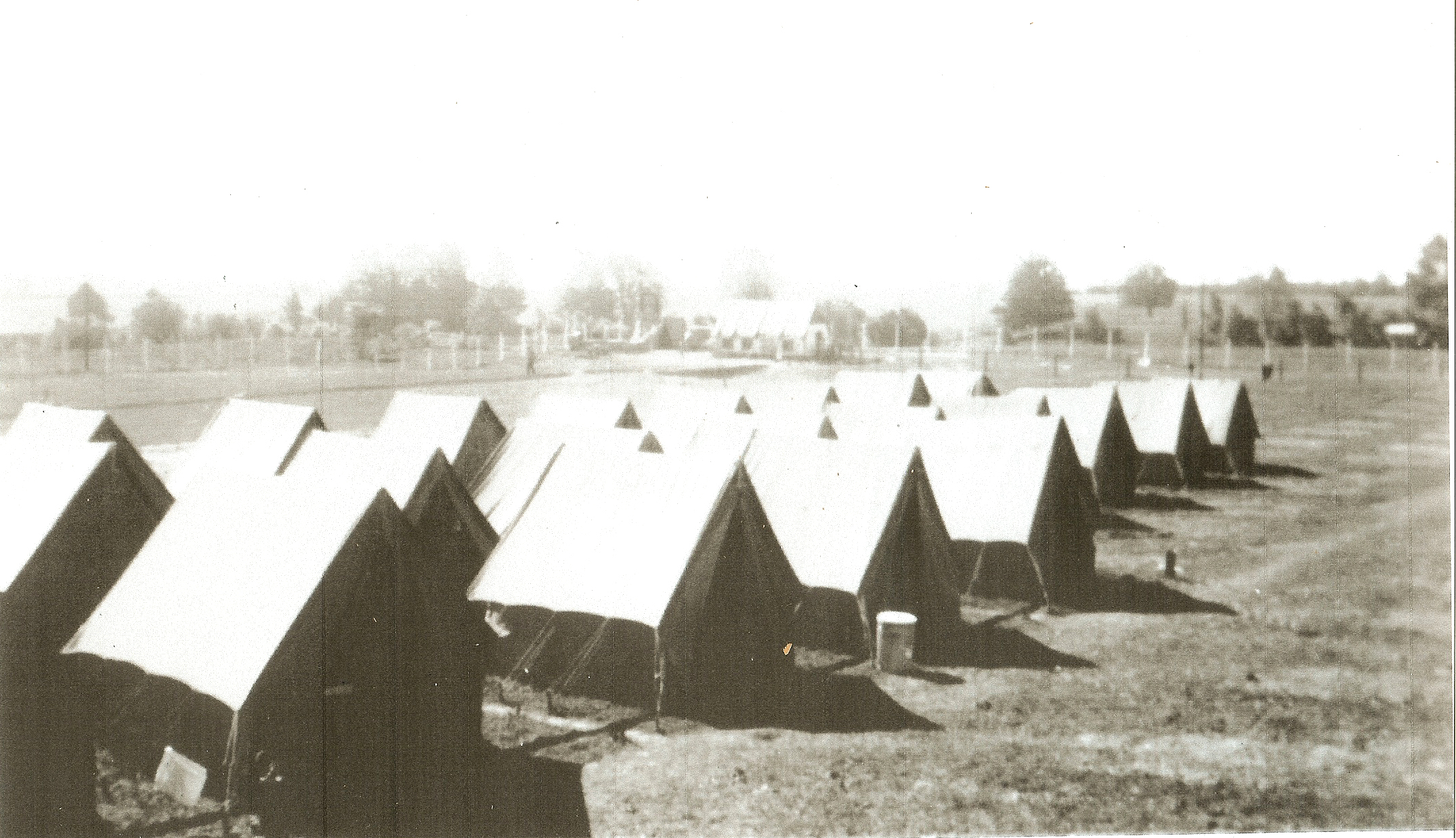 1945, Satellite POW Camp for 250 German Prisoners of War, Wilmington, Ohio