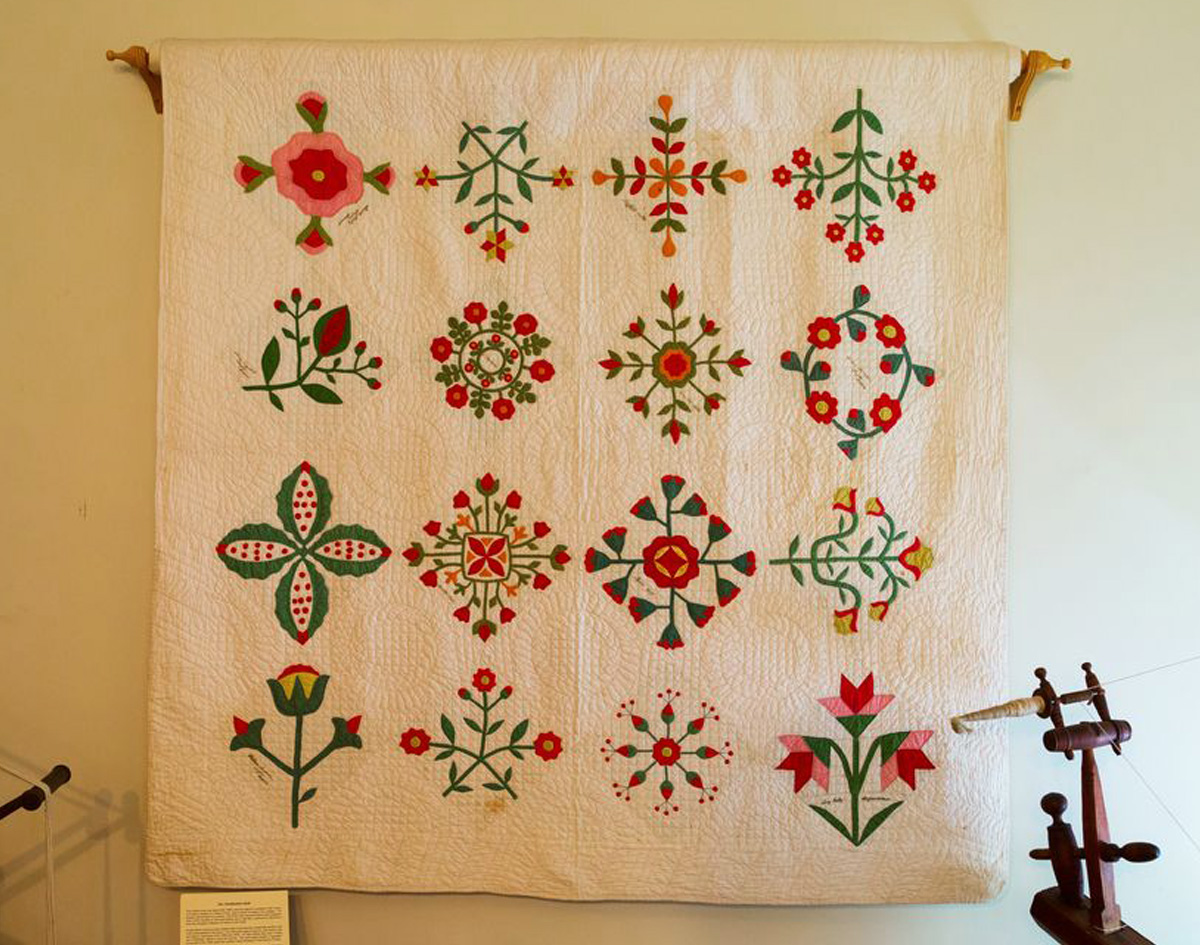 antique Abolitionist Quilt