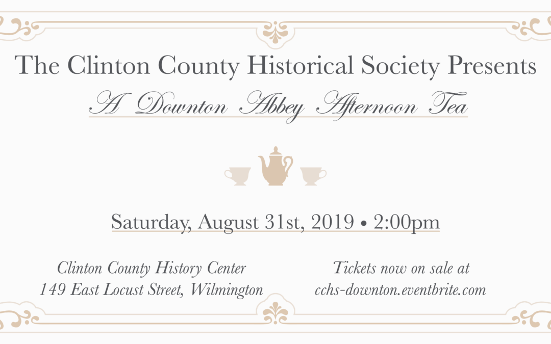 Downton Abbey Tea Party Fundraiser